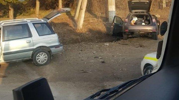 ACCIDENT GRAV în apropiere de Lozova. Un şofer, transportat la spital (FOTO)