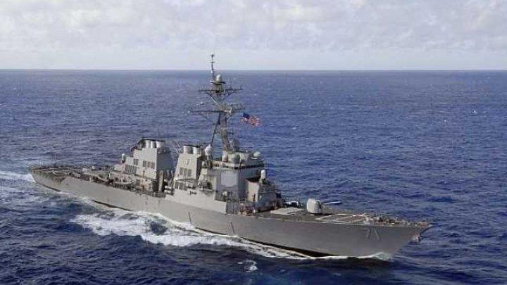 Un distrugător american îi pune în alertă pe ruşi în Marea Neagră