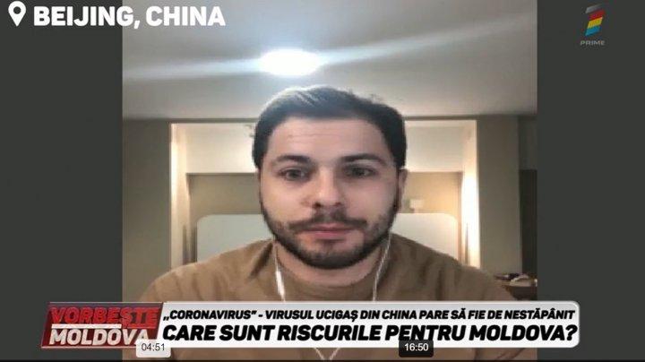 Moldovenii care se află în China povestesc ÎN DIRECT la PRIME ce se întâmplă în ţara afectată de CORONAVIRUS (VIDEO)
