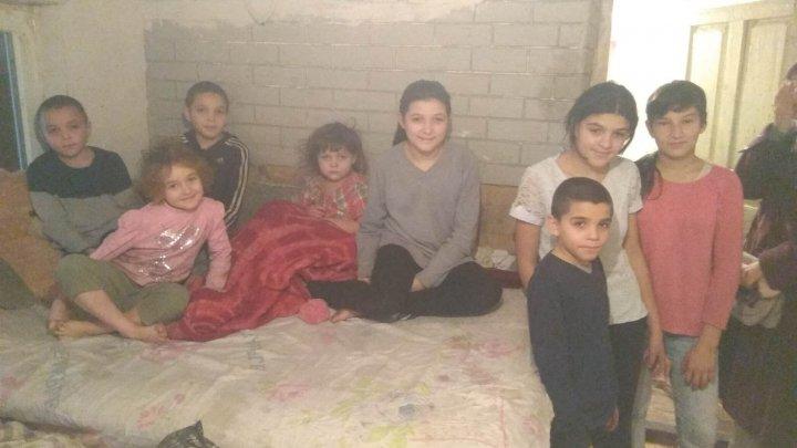 Povestea unei mame cu 11 copii din Cricova. Mai mulţi sportivi amatori au organizat un ultramaraton pentru a ajuta această familie