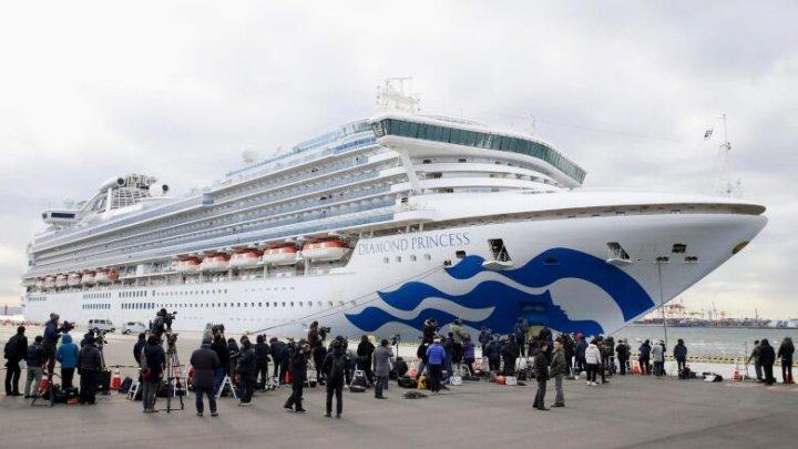 """MAE al Ucrainei: Încă un ucrainean infectat cu coronavirus la bordul navei de croazieră """"Diamond Princess"""""""