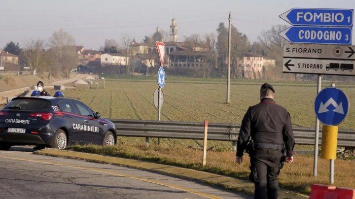 Imagini din orașele fantomă din nordul Italiei. Zonele în care singurele mașini care mai circulă sunt cele ale carabinierilor (VIDEO)