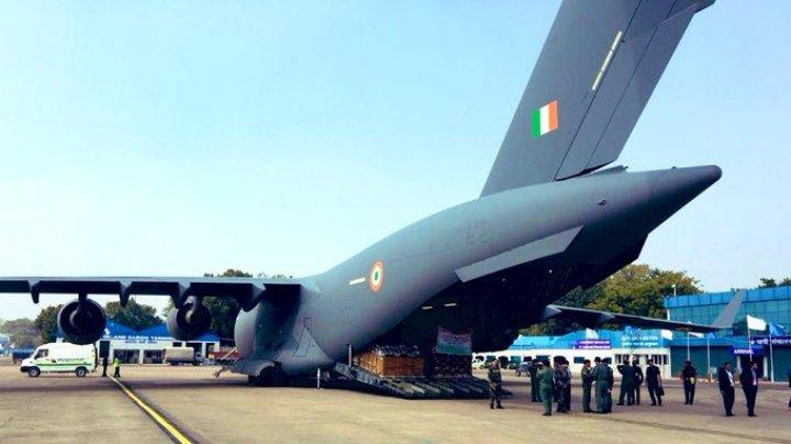 India a trimis la Wuhan 15 tone de echipamente medicale în lupta cu epidemia de coronavirus
