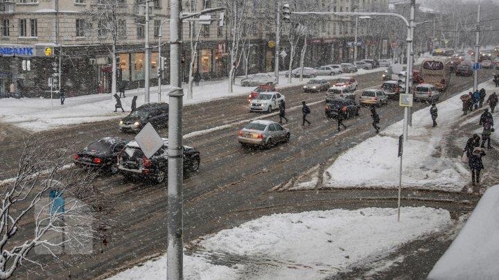 METEO 25 ianuarie: Ninsori şi ploi. Câte grade vor indica termometrele