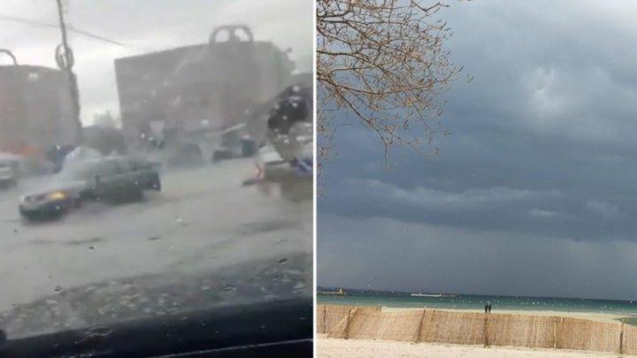 Natura s-a dezlănţuit în România. Mai multe localităţi au fost inundate, după FURTUNĂ, PLOI TORENŢIALE ŞI GRINDINĂ