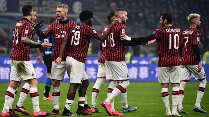 "Spectacol total în ""Derby della Madonnina"". Inter s-a impus cu 4-2 în faţa marii rivale AC Milan"