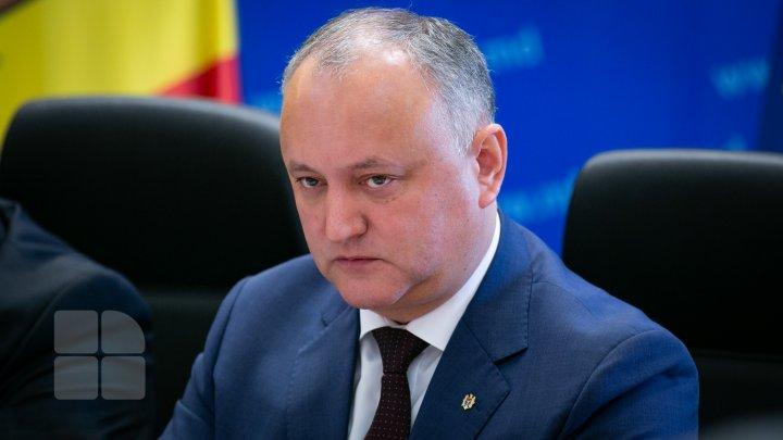 Tauber, Carp și Reniță cer demisia președintelui Igor Dodon: Să plece și să ne alegem noi, poporul, soarta noastră