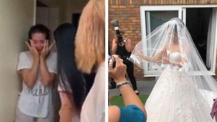 """O tânără s-a trezit cu o nuntă-supriză, chiar de ziua ei: """"Bună dimineața, astăzi te măriți"""""""