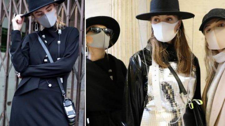 Industria modei începe să profite de epidemia de coronavirus. Au aprut măştile fashion (FOTO)