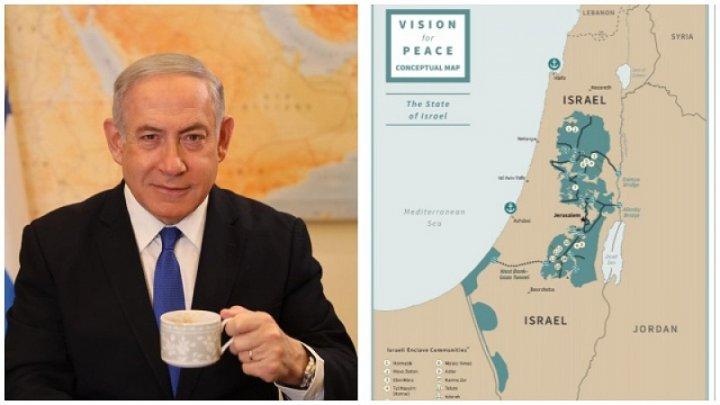 Israelul a trecut deja la punerea în aplicare a Înțelegerii Secolului făcută cu Donald Trump