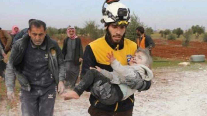 ONU: Peste 900.000 de sirieni şi-au părăsit locuinţele și trăiesc în condiții dureroase