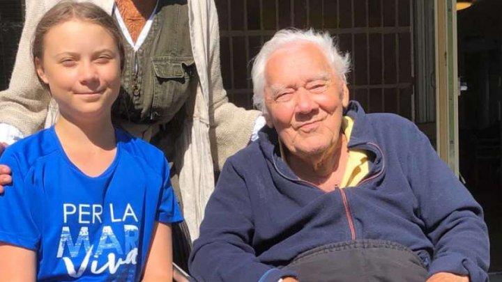 Cunoscutul actor şi regizor Olof Thunberg, bunicul Gretei Thunberg, a murit la vârsta de 94 de ani