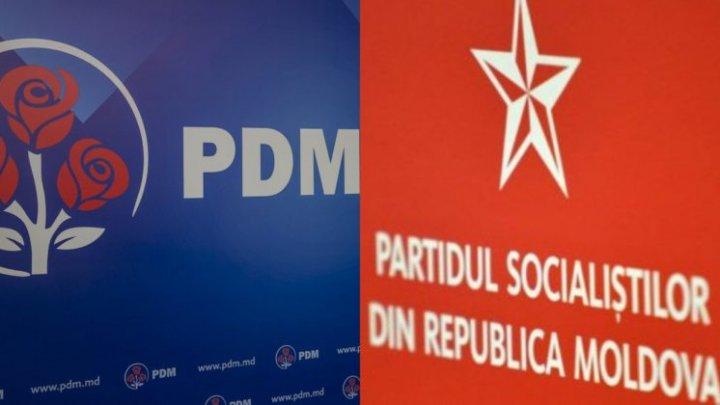 O nouă şedinţă a coaliţiei de guvernare PSRM-PDM. Anunţurile formaţiunilor