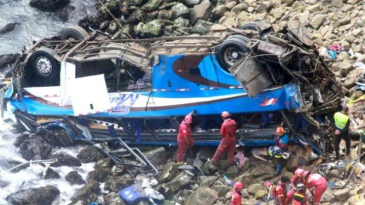 Tragedie în fotbal. Şapte jucători din Peru au murit după ce autocarul în care se aflau a căzut într-o prăpastie