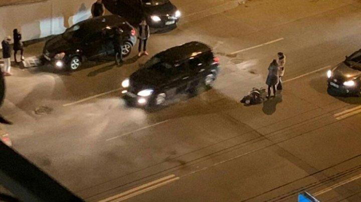 DETALII în cazul pietonului lovit de o maşină pe o stradă din Capitală. Victima a ajuns la spital. Ce spune şoferul (VIDEO)