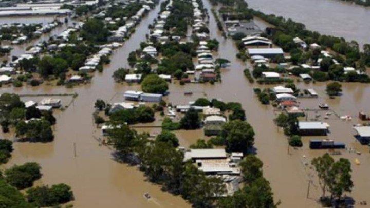 Avenit Potopul, în Australia. Ploile torențiale și inundațiile fac prăpăd