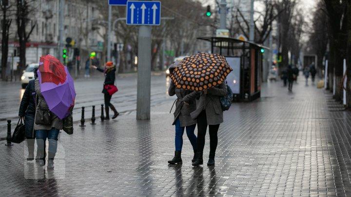 METEO 22 martie 2020: Vor cădea precipitații sub formă de ploi și lapoviță