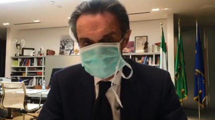 Attilio Fontana, guvernatorul Lombardiei, plasat în carantină după ce un asistent al său a fost diagnosticat cu coronavirus
