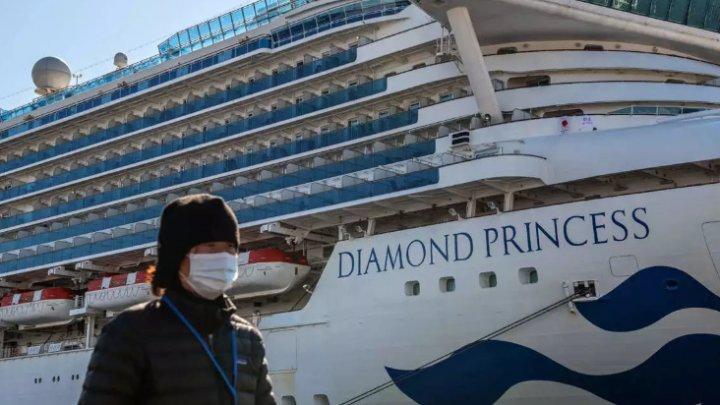 Doi pasageri de pe nava de croazieră Diamond Princess, unde sunt şi moldoveni, au murit din cauza coronavirusului
