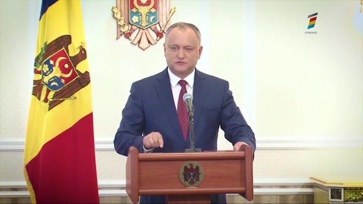 Igor Dodon: Toate persoanele care locuiesc în Moldova, obligate să achite polița de asigurare medicală