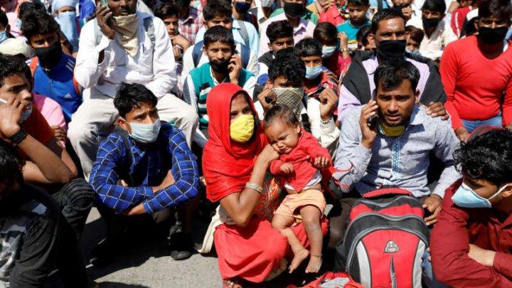 O adunare religioasă la o moschee din New Delhi, posibil focar de epidemie de coronavirus