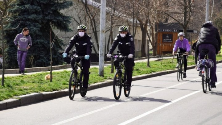 Polițiștii de patrulare, la datorie pentru siguranța ordinii publice