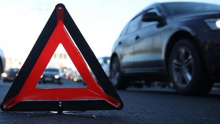 Accident în Capitală: Două maşini s-au ciocnit în sectorul Botanica