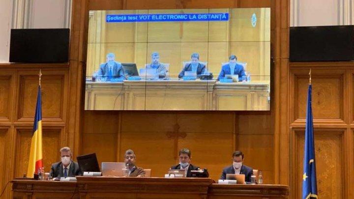 Parlamentul României se va întruni într-o ședinţă online pentru încuviinţarea stării de urgenţă