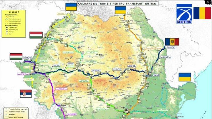 Culoare de tranzit pe teritoriul României pentru transportul de marfă, în contextul răspândirii COVID-19