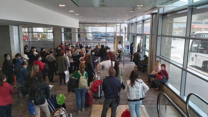 159 de moldoveni au fost repatriați din Israel cu o cursă charter