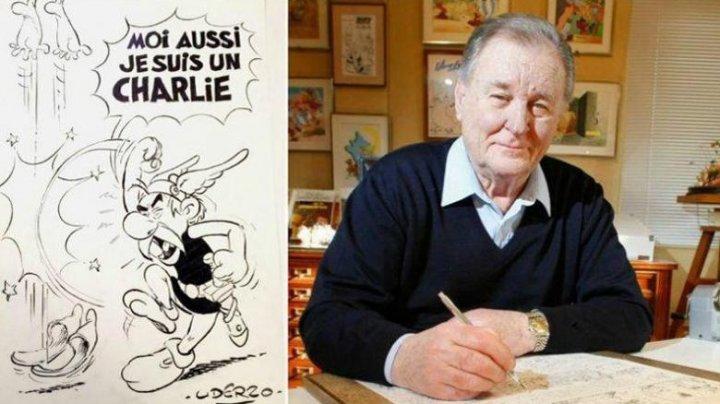 A murit Albert Uderzo, creator al personajelor Asterix și Obelix