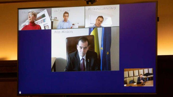 România: Guvernul se reunește în prima ședință de la instutuirea stării de urgență