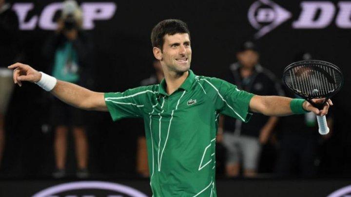 Novak Djokovic s-a luat la întrecere cu fiul său la...desenat