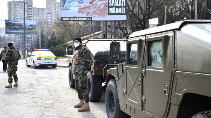 Militarii, în acțiune pe timp de coronavirus. Localitățile în care verifică cum respectă cetățenii regimul de carantină