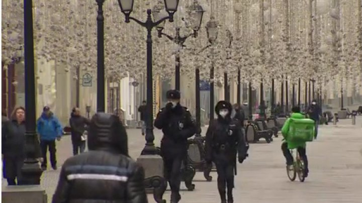 Moscova, plasată în izolare pe o perioadă nedeterminată din cauza covid-19