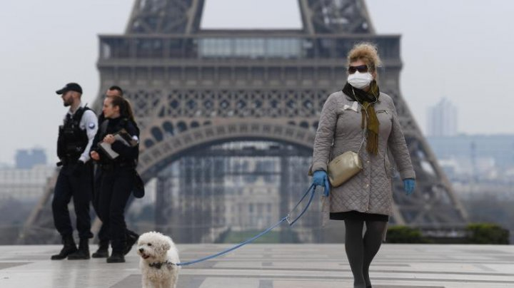 Franța a intrat în stare de urgență sanitară, timp de 2 luni