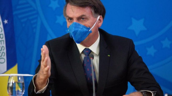 Bolsonaro susține că măsurile de izolare duc la ruinarea Braziliei