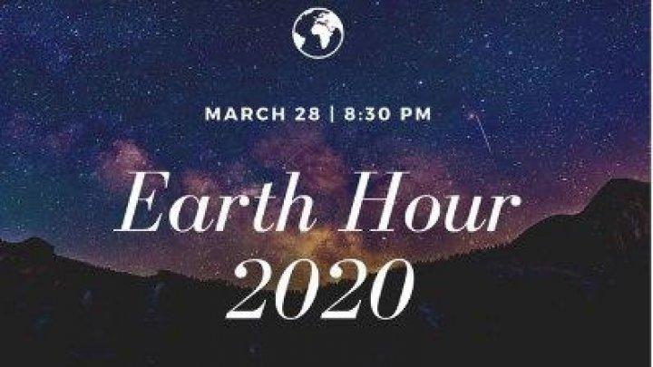 Ora Pământului, marcată altfel. Cum vom sărbători în acest an, pe timp de pandemie