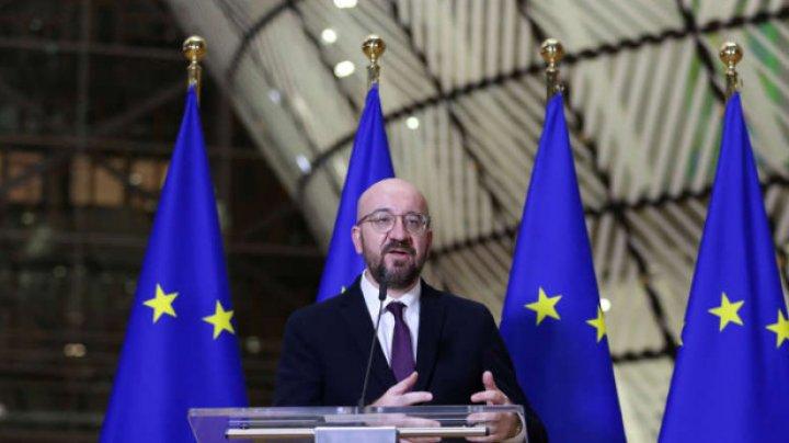 Preşedintele Consiliului European: UE prioritizează libertatea de circulaţie a mărfurilor şi vaccinurile pe timp de coronavirus