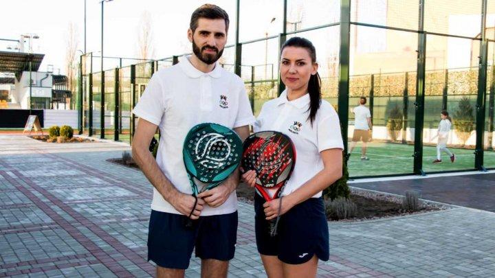 Padelul, tot mai popular şi în Moldova. Sportivii care ne vor reprezenta ţara la un turneu internațional
