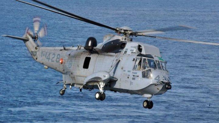 Un elicopter al NATO s-a prăbuşit în Marea Ionică