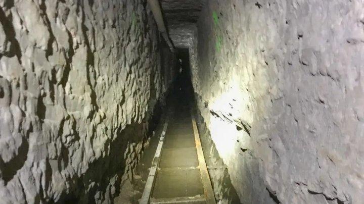 Tunel secret din Mexic în SUA. Ce au descoperit autorităţile americane în pasajul subteran