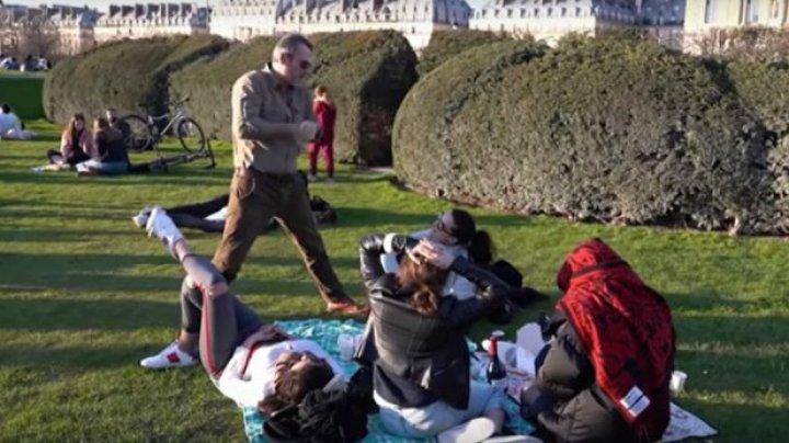Parizienii nu mai au voie să facă sport în aer liber pe timpul zilei