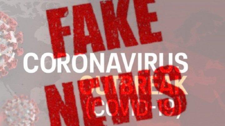 Două site-uri care publică  informații false despre COVID-19 vor fi închise