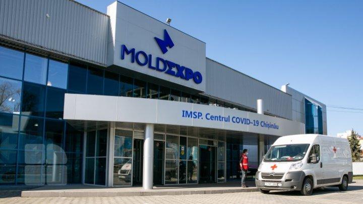 Cum decurg lucrările de amenajare a Centrului de triere la Moldexpo. Primul pavilon, gata în totalitate (FOTO)