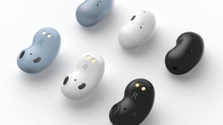 Samsung va lansa căşti wireless în formă de... fasole pentru a concura cu Apple