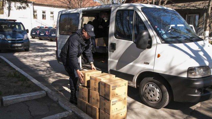 Polițiștii de frontieră, susținuți în acțiunile de diminuare a consecințelor pandemiei de coronavirus