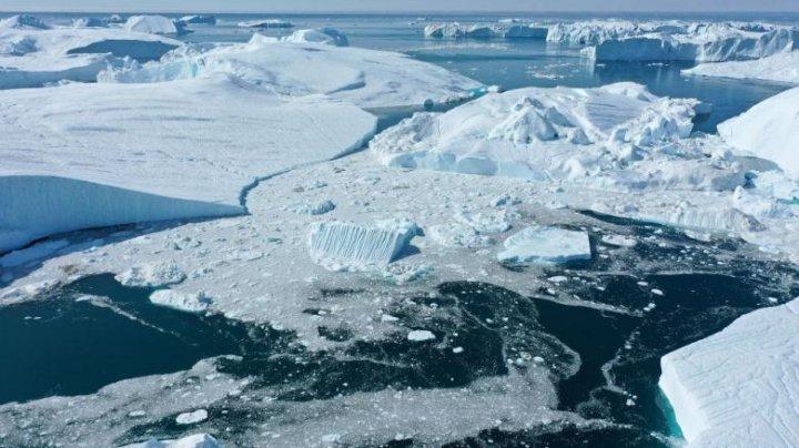 Fenomen îngrijorător: Stratul de gheaţă din Groenlanda se topeşte într-un ritm record