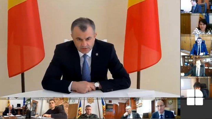 Prima şedinţă online a guvernului (VIDEO)
