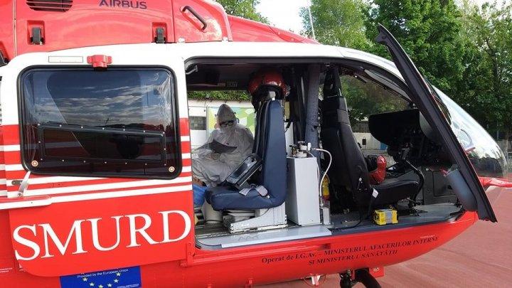 Un asistent medical de pe elicopterul SMURD a avut parte de misiunea vieții lui: a fost chemat să-şi salveze propriul copil!